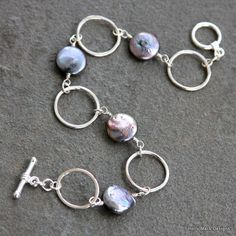 Handcrafted sterling silver bracelet wire by HollyMackDesigns, $84.00