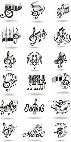 Misc musical notes