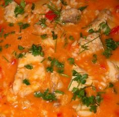 Fish Rice – Recipes Now, fast, easy and simple Cooking for everyone ! Seafood Soup, Fish And Seafood, Rice Recipes, Cooking Recipes, Healthy Recipes, Pargo, My Favorite Food, Favorite Recipes, Portuguese Recipes