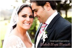 Indian Mexican fusion wedding; She is Mexican, and he is Spanish!!