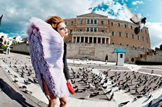 Asa Engström by Mara Desipris for Vogue Hellas March 2010. #fashion #viktorandrolf #photography #femalephotographers