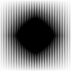 Look at the black diamond in the middle, is it moving? | 10 Awesome Optical Illusions That Will Melt YourBrain