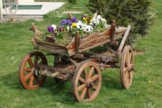 wooden cart - Google Search