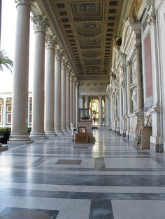 The Papal Basilica of St Paul Outside the Walls, Rome