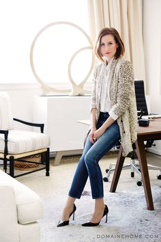 Who What Wear Co-Founder @Katherine Power's incredible before-and-after office makeover.