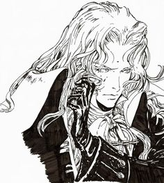 Alucard from Symphony of the Night video game