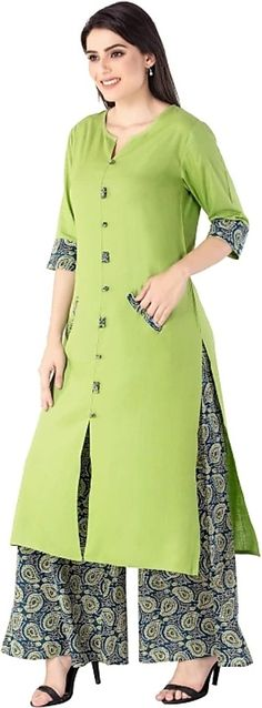 Ideas For Dress Pattern Indian Kurti Salwar Kameez Neck Designs, Churidar Designs, Kurta Designs Women, Dress Neck Designs, Designs For Dresses, Blouse Designs, Kurthas Designs, Neck Designs For Suits, Salwar Pattern