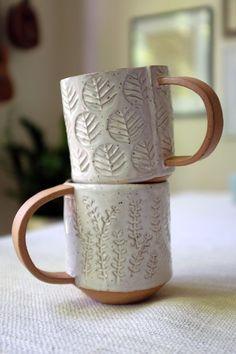 hand-built pottery #artsandcraftspottery,