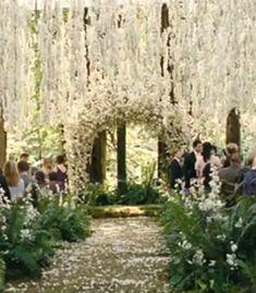 Wisteria Wedding from Twilight ( I know, I know)