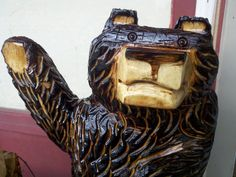 Hey everybody... chainsaw carvings  www.etsy.com/shop/stoneswoodcarvings