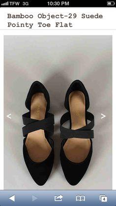 Dressier black flats from urbanog.com