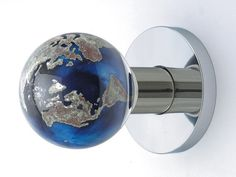 """Globe Door Knob -- """"Simply stunning and totally original, let Out of the Blue Design Studio bring a dash of fun to your doors."""""""