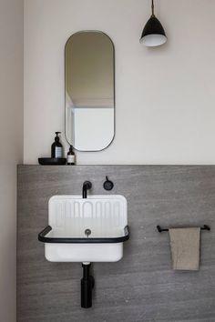 Bathroom | Melbourne Home by CJH Studio | est living