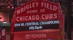 CHRISTmas came early for the Cubs & Cubs Fans. Go Cubs Go