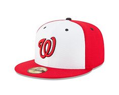 a263fca30ce Men s Washington Nationals New Era Red Navy Game Spring Training Diamond Era  Fitted Hat