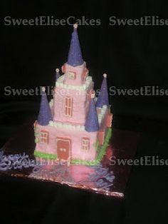 Sweet Elise cakes: Castle cake