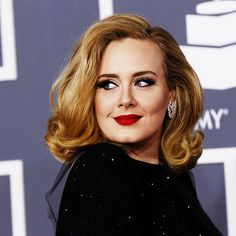 """I make music for the ears, not for the eyes."" -Adele. Well, you ain't so bad on the eyes either."