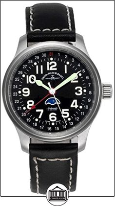 Zeno-Watch Reloj Mujer - NC Pilot Moon Phase - 9785-a1 de  ✿ Relojes para hombre - (Lujo) ✿