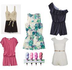 Cute rompers - just in time for summer <3
