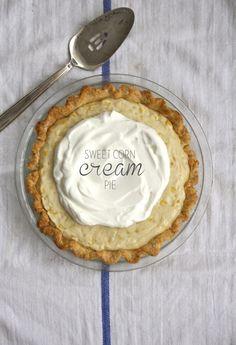 Sweet Corn Pudding Pie