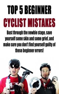 Top 5 Beginner Cyclist Mistakes. #cycling #cyclingmistakes #beginnercycling #cyclingtips #cyclistnewbie
