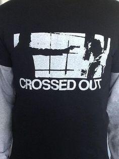 Crossed Out - Gun hoodie
