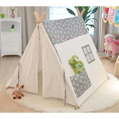 Encouraging Play Encourages a Child's Development – Playground Fun For Kids Diy Teepee, Teepee Party, Kids Teepee Tent, Diy Tent, Teepees, Childrens Teepee, Tent Photography, Play Houses, Diy For Kids