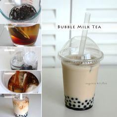 How to Make Bubble Tea - Milk Tea & Coconut