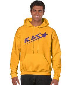 Sweatshirt Man Gold BAS Clothing. #BeAStar #BASclothing #Menswear #Urban #Fashion www.basclothes.com