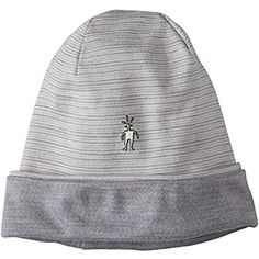 fedcd984243 Amazon.com   Smartwool NTS Mid 250 Reversible Pattern Cuffed Beanie (Light  Gray Heather) One Size   Sports   Outdoors