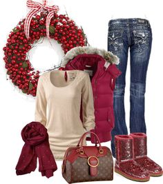 """""""cranberry craze"""" by shauna-rogers on Polyvore"""