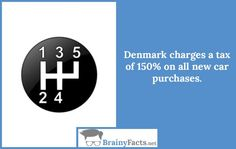 Car Facts : Denmark taxes | did you know