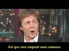Paul McCartney Habla sobre su muerte en 1966 (en español)