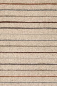 Dash & Albert | Stone House Stripe Wool Woven Rug | With its dense, durable weave and blend of warm and cool tones, this may be our favorite napping spot—er, rug, yet.