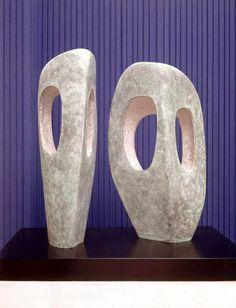Barbara Hepworth  Two Forms in Echelon, Bronze, 1961