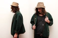 Vintage Austrian Wool Forest Green Sweater Brown by ThePenduline, €48.00