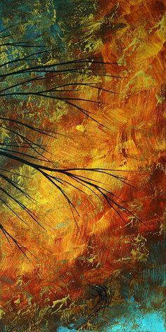 Abstract Landscape Art Passing Beauty 5 Of 5 Painting  - Abstract Landscape Art Passing Beauty 5 Of 5 Fine Art Print
