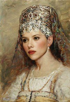 Modern Renaissance - Scarlett Johannsen