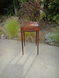 Vintage side table WM Berkey S669 Guessing by MilliesAttique, $125.00