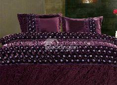 Purple Story Super Soft Suede Skincare 4 Piece Bedding Sets - beddinginn.com