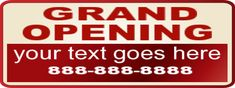 Grand Opening Banner #8032 Grand Opening Banner, Red Carpet Backdrop, Event Banner, Red Carpet Background