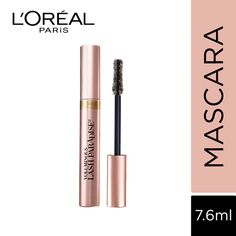 LOreal Paris Voluminous Lash Paradise Mascara - 204 Blackest Black: Buy LOreal Paris Voluminous Lash Paradise Mascara - 204 Blackest Black Online at Best Price in India | Nykaa Makeup Swatches, Makeup Dupes, Makeup Kit, Skin Makeup, Makeup Lipstick, Lash Paradise, Makeup Must Haves, Best Mascara, Highlighter Makeup