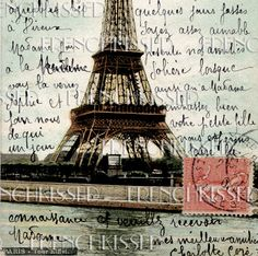 postcards of the Eiffel tower, Paris Tour Eiffel, Paris Eiffel Tower, Mail Art, Image Paris, France 3, I Love Paris, Paris Girl, Paris Travel, Vintage Postcards