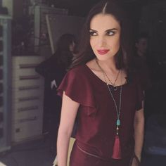 """We love how Foteini Darra wears her pendants at the """"Celebrity Night Game"""" TV show. S - katerinapsoma Game Night, Our Love, Turquoise Necklace, Tv Shows, Pendants, Celebrities, Unique, How To Wear, Pendant Necklace"""