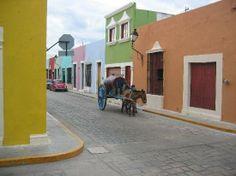 La colorida Campeche