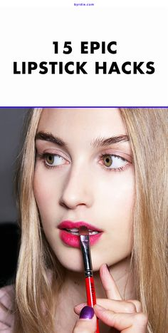 15 lipstick techniques to master ASAP