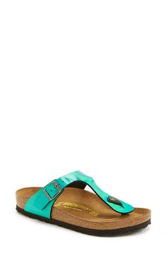 Birkenstock 'Gizeh' Thong Sandal (Women) available at #Nordstrom