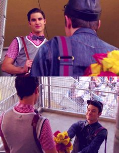 Day 7 favorite couple on the show: Klaine! They are my otp and they are so amazing together. I absolutely love Klaine!