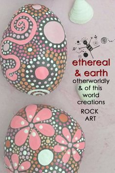 Are you an early Christmas Shopper? Check out etheral & earth Rock Art for unique gift ideas you can check off your list early! etheral & earth - otherworldly & of this world creations offers FREE Shipping in the USA. Trio of Stones - $24