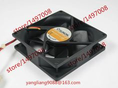 SUNON KDE1209PTBX-6A DC 12V 4.3W 3-wire 3-pin connector 90mm 90x90x25mm Server Square Cooling Fan